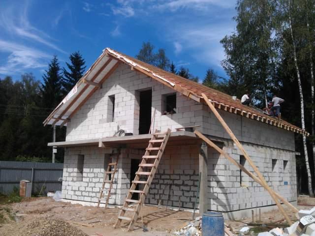 Этапы строительство дома из пеноблоков своими руками