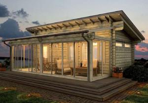 Строим веранду деревянную часть 2