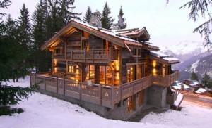 Шале это альпийский дом. Часть 1