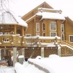 Возведение деревянных домов в зимний период в СПб и ЛО