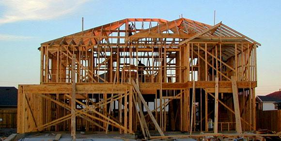 Строительство каркасного дома в Синявино 2