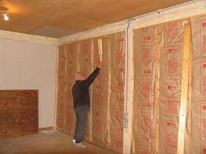 Правильное утепление стен в доме