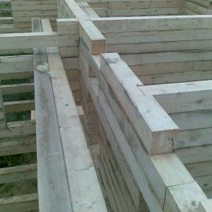 Когда лучше строить дом из профилированного бруса