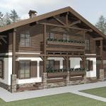 Шале это альпийский дом. Часть 2