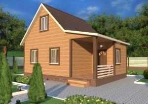 Строительство каркасных загородных домов в СПб и ЛО