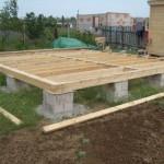 Какой фундамент выбрать для деревянного дома?