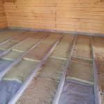 Перекрытие в деревянном доме